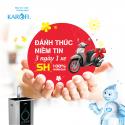 Mua máy lọc nước Karofi - Cơ hội sở hữu xe SH