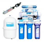 Máy lọc nước Karofi thông minh 6 lõi lọc IRO có đèn UV