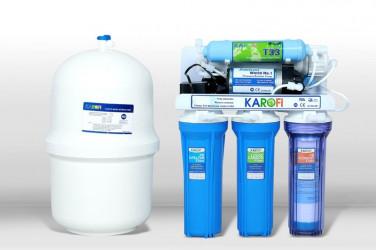 Máy lọc nước Karofi kt80 8 lõi lọc không tủ bình áp nhựa