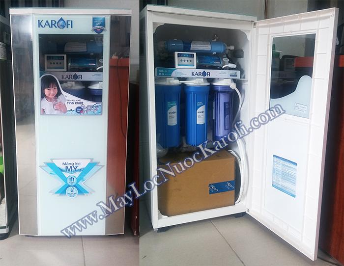 Máy lọc nước Karofi thực tế