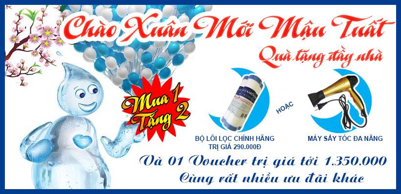 Mừng 30/4 - 1/5 GIẢM KỊCH SÀN máy lọc nước karofi 9 lõi