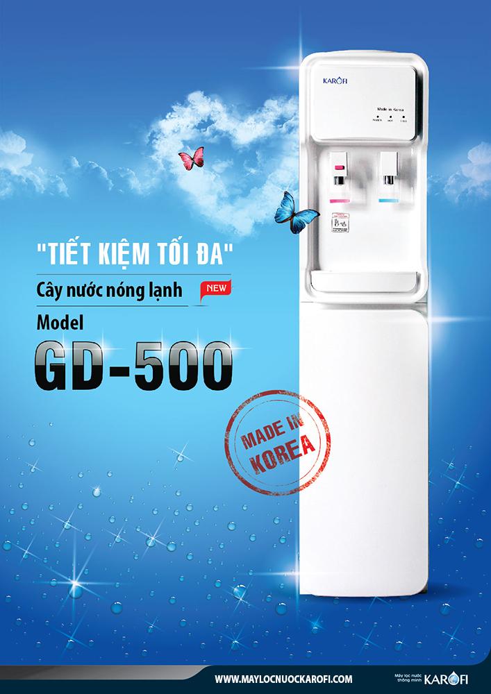 Cây nước nóng lạnh Karofi GD 500
